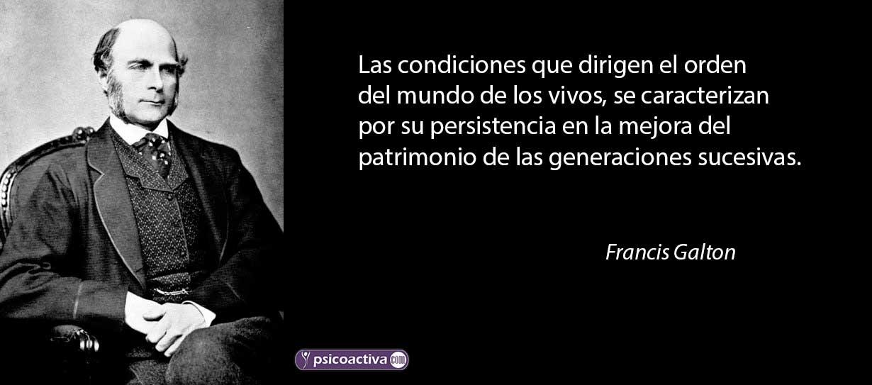 Francis Galton Frases