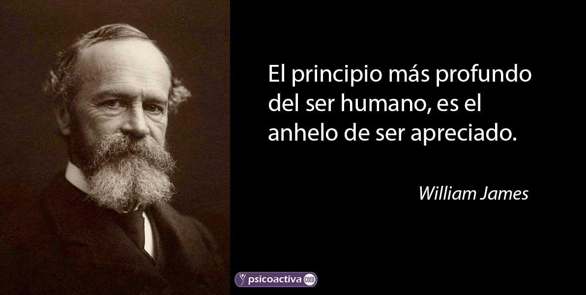 William James Frases