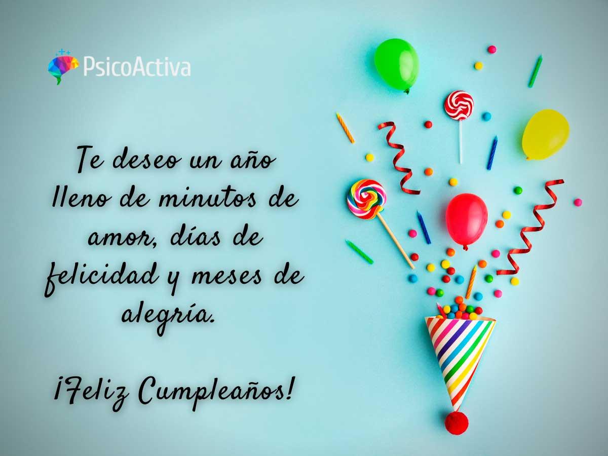 Frase Feliz Cumpleaños