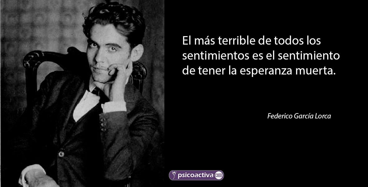 Federico Garcia Lorca Frases