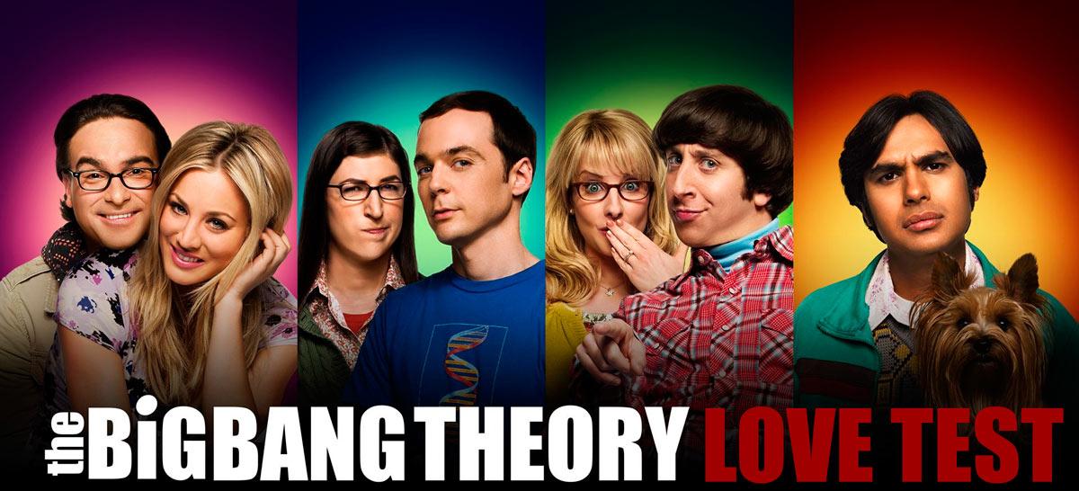 Test Big Bang Theory De Fortaleza De La Relacion