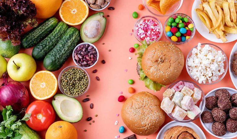 Alimentacion Saludable Vs Alimentos No Saludables