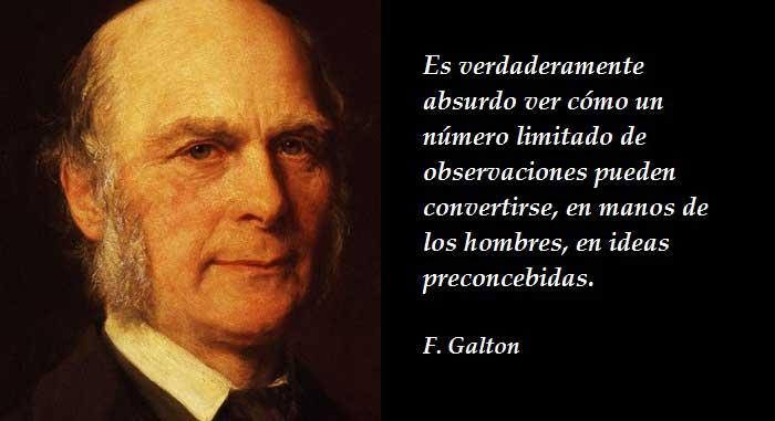 Citas célebres de Francis Galton