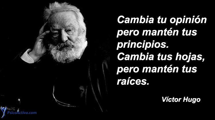 120 Frases De Víctor Hugo Para Reflexionar