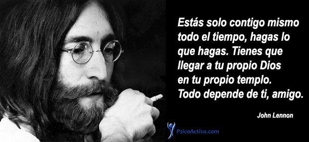 80 Frases De John Lennon De Paz Amor Y Música