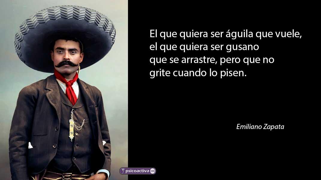 ▷ Frases célebres de Emiliano Zapata - PsicoActiva