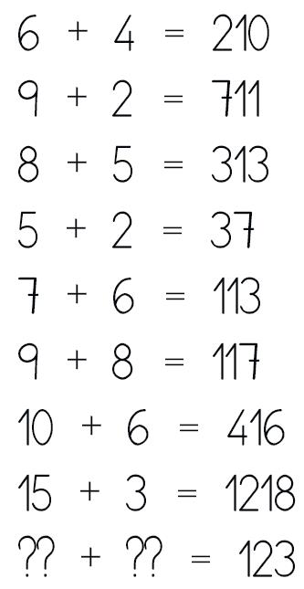 La serie numérica para genios