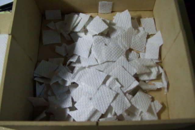 Pedazos de papel
