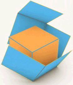 El envoltorio del cubo