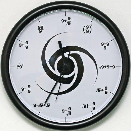 reloj 9 3